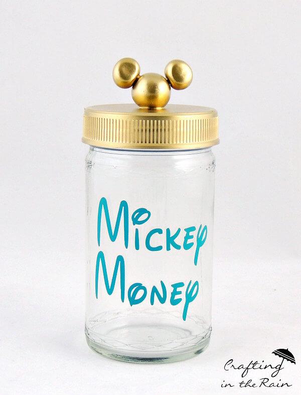Theme Park Resolutions - Disney Savings Jar