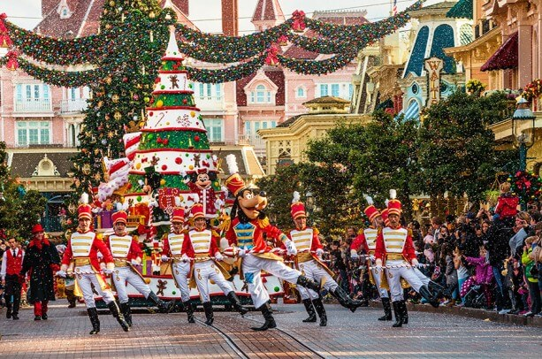 Disneyland Paris Resort Christmas Parade
