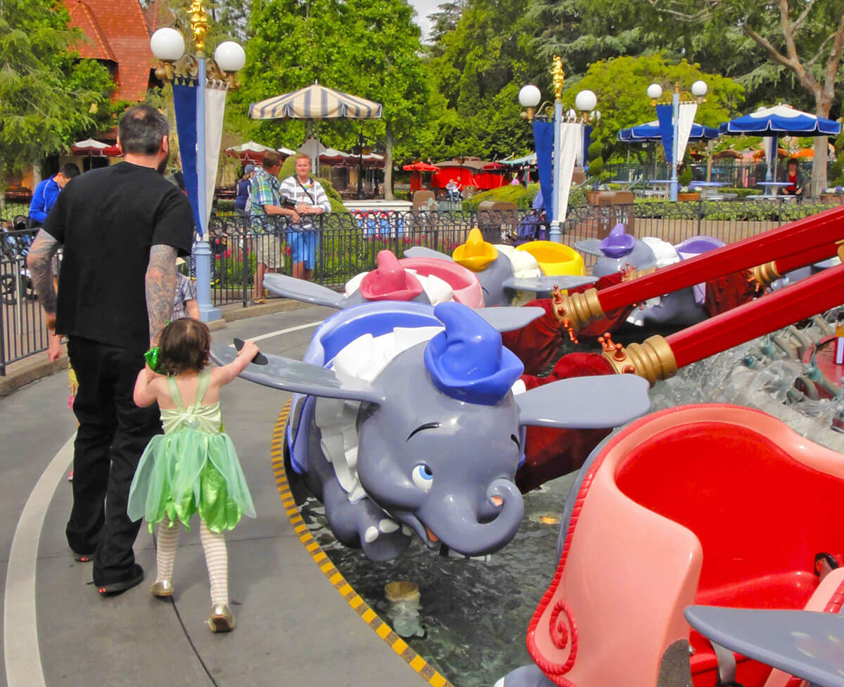 Best Theme Parks in California by Age Group - Toddler