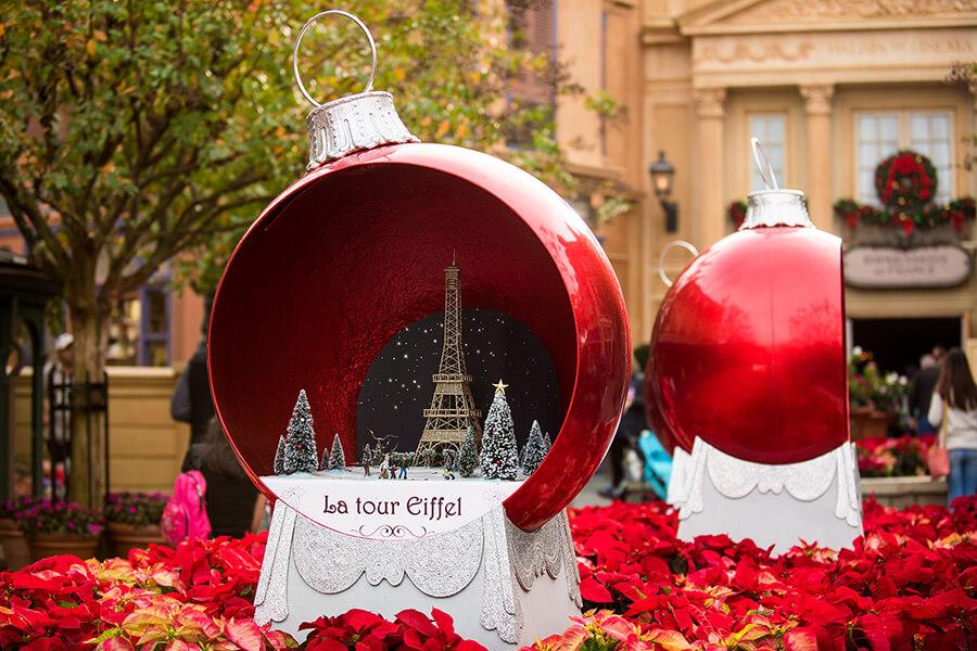 Epcot France decorations