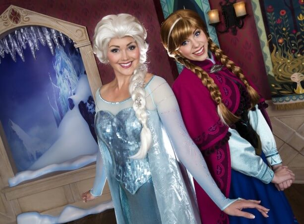 Disney Plans for Epcot Frozen Meet-and-Greet Revealed