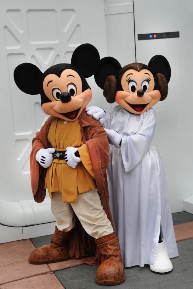 Star Wars Weekends Mickey and Minnie