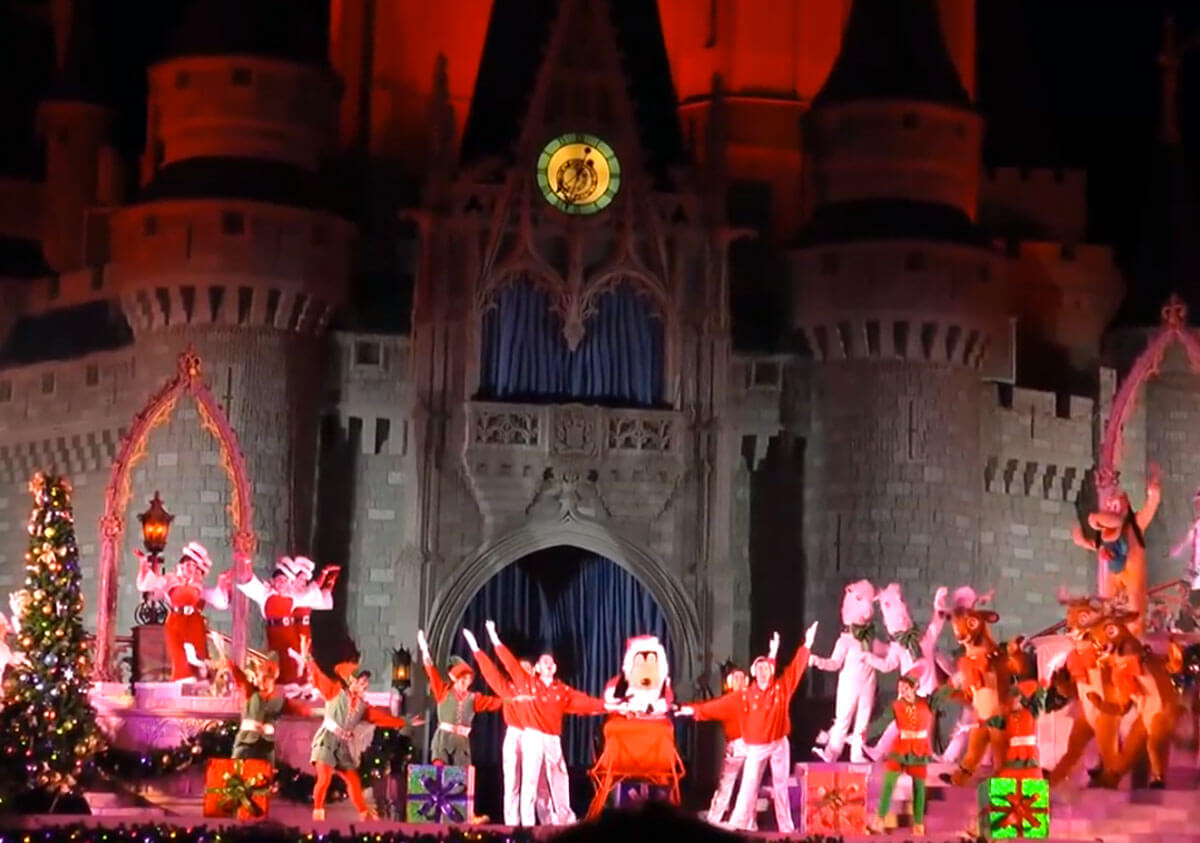 Top Disney posts 2014 - Santa Goofy