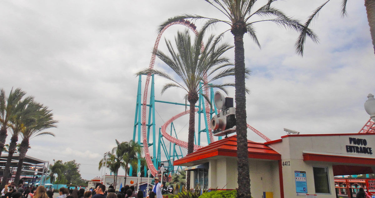 Southern California theme parks by age - Xcelerator at Knott's Berry Farm