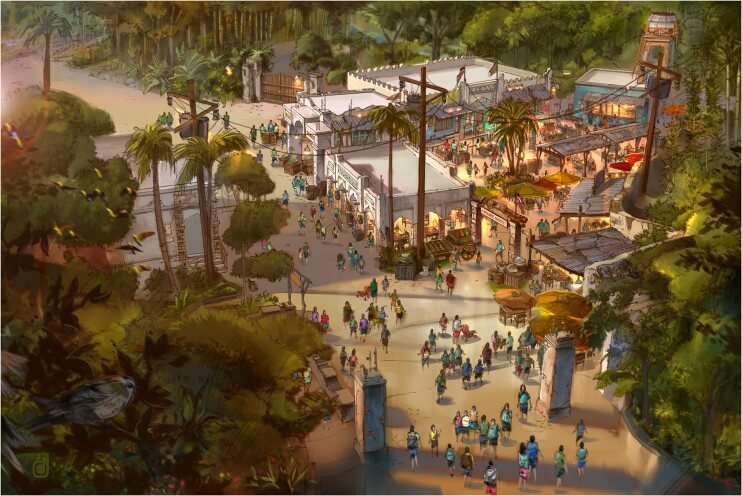 What Opened at Disney World in 2015 - Harambe Market