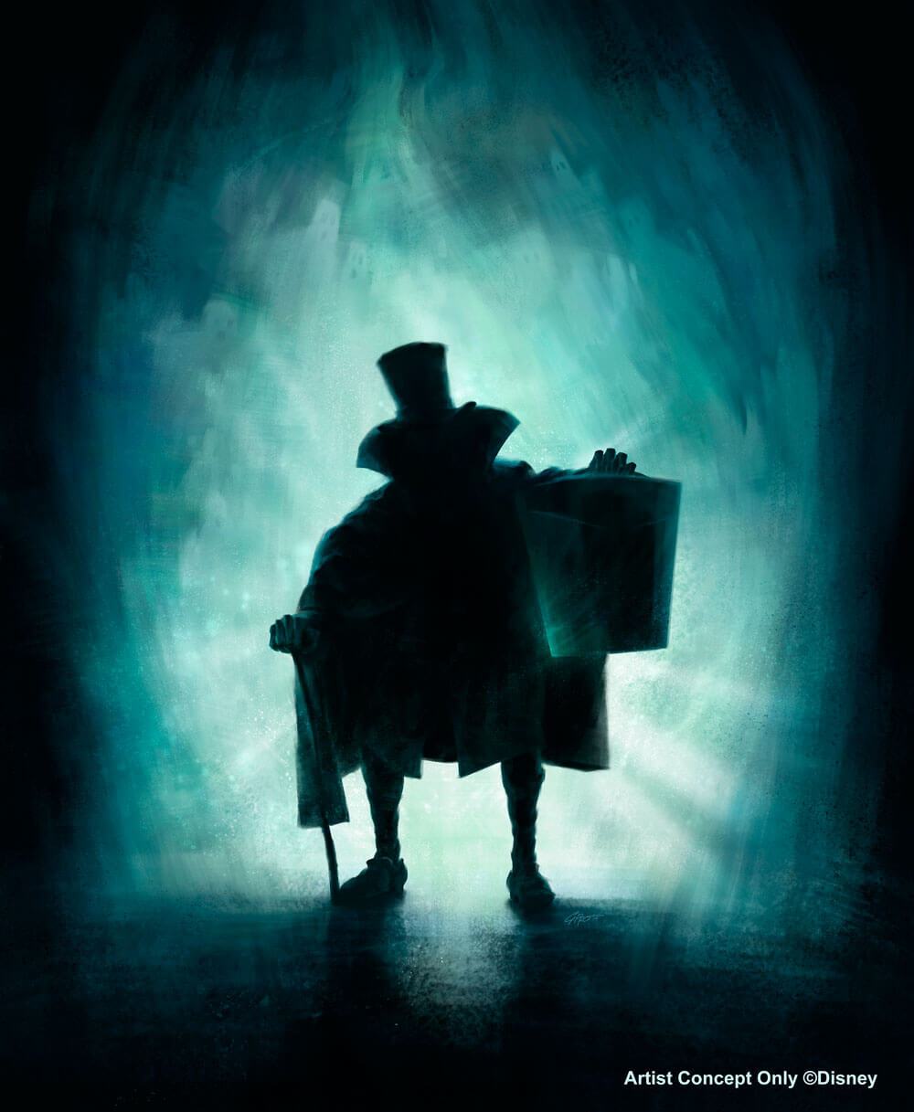 Disneyland Resort Diamond Celebration - Hatbox Ghost