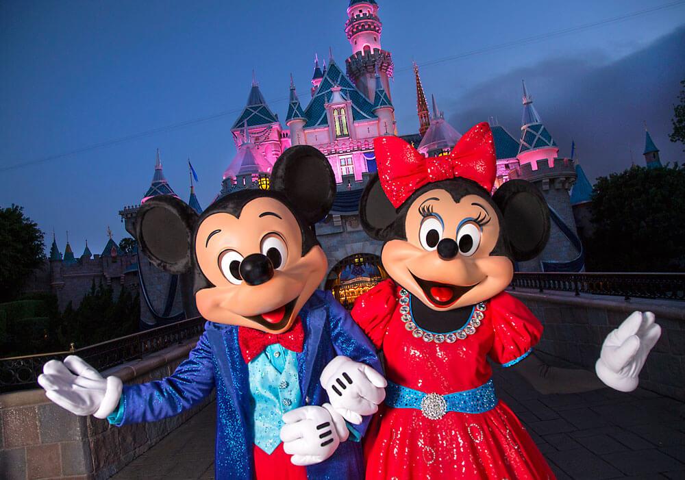Disneyland Resort Diamond Celebration - Mickey and Minnie