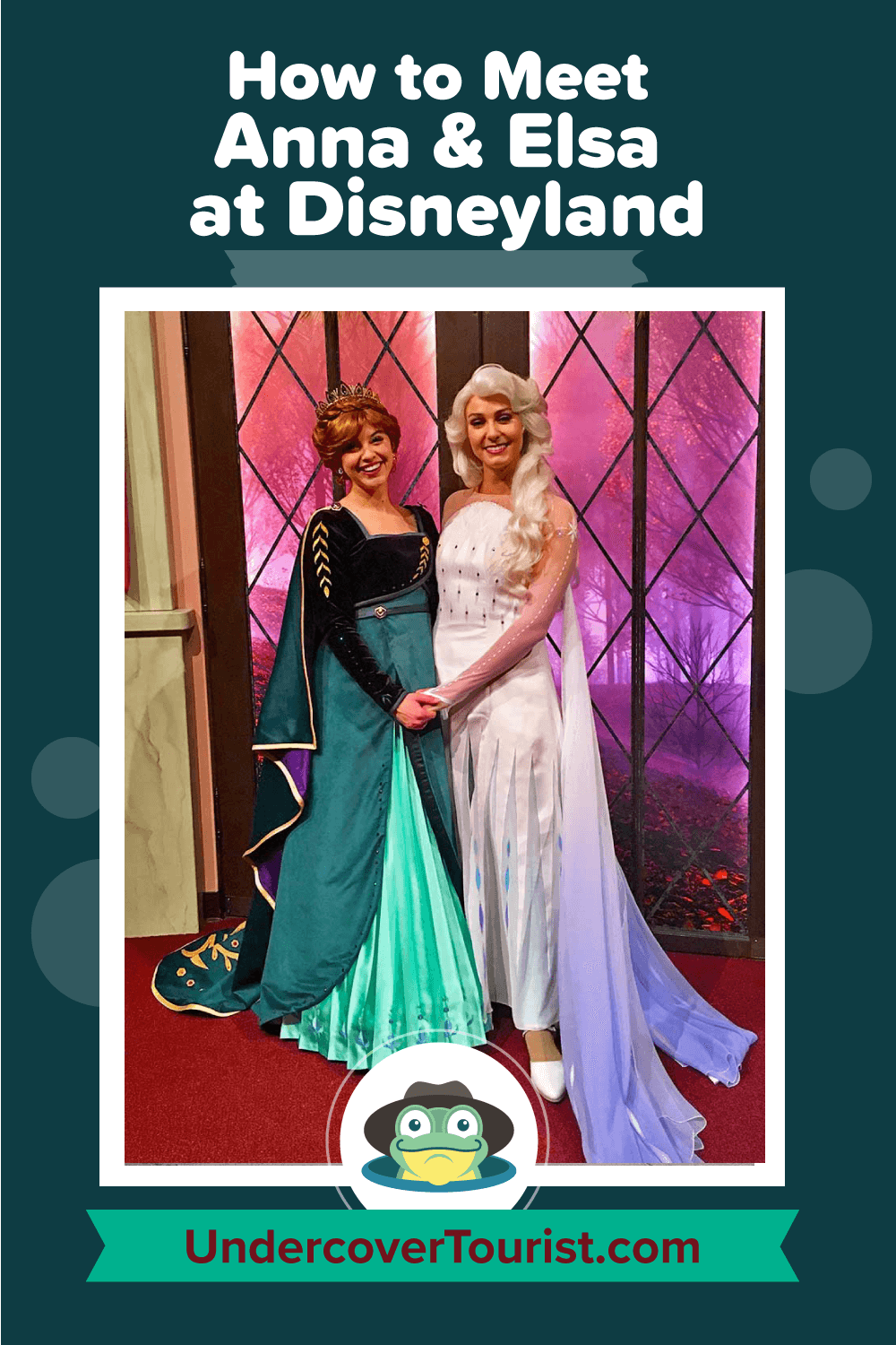 How to Meet Anna and Elsa at Disneyland - Pinterest