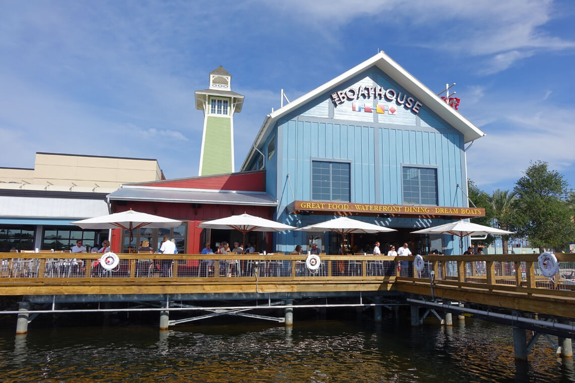 Downtown Disney - Disney Springs - The Boathouse