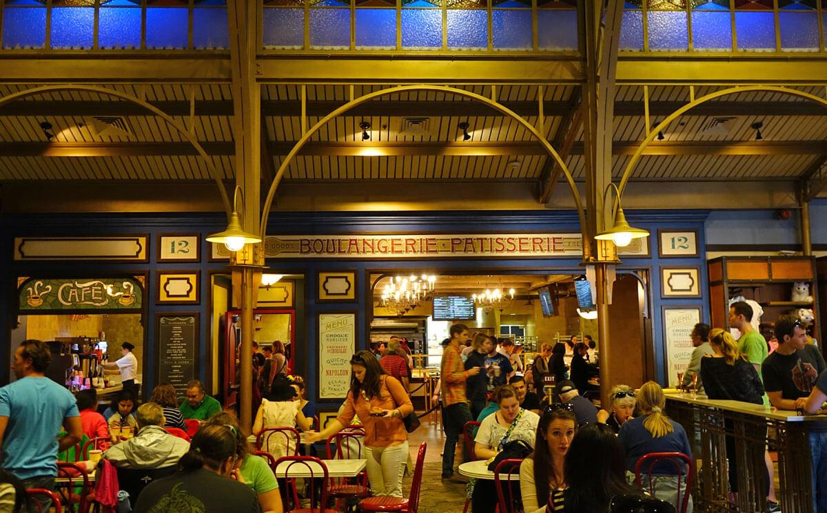Most filling snacks at Disney World - Les Halles Boulangerie & Patisserie