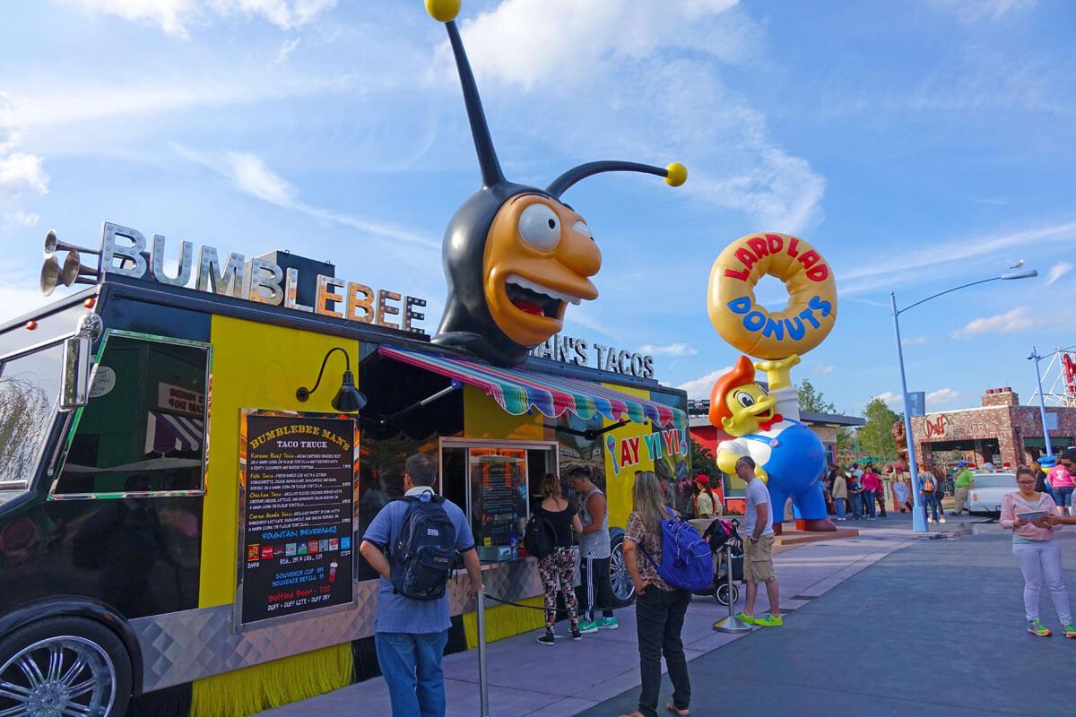 Universal Studios Counter Service - Bumblebee Man Tacos