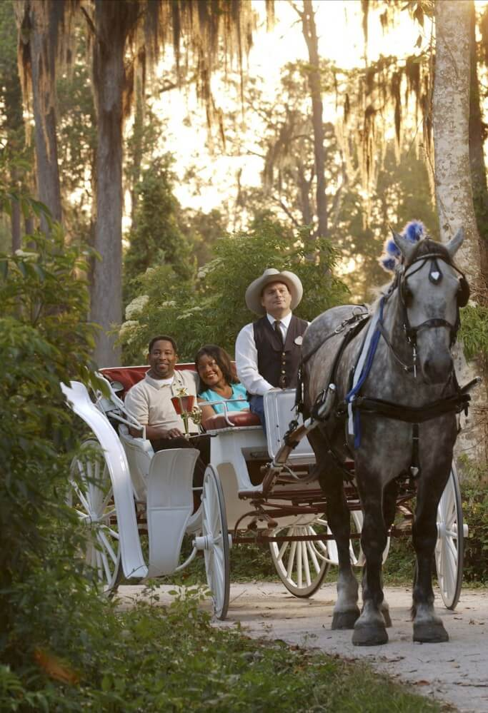 Romantic things to do at Disney World For Valentine's (or any) Day - carriage ride