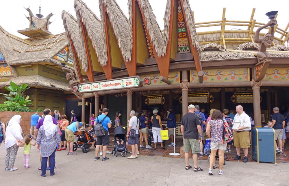 What Opened at Disney World in 2015 - Aloha Isle