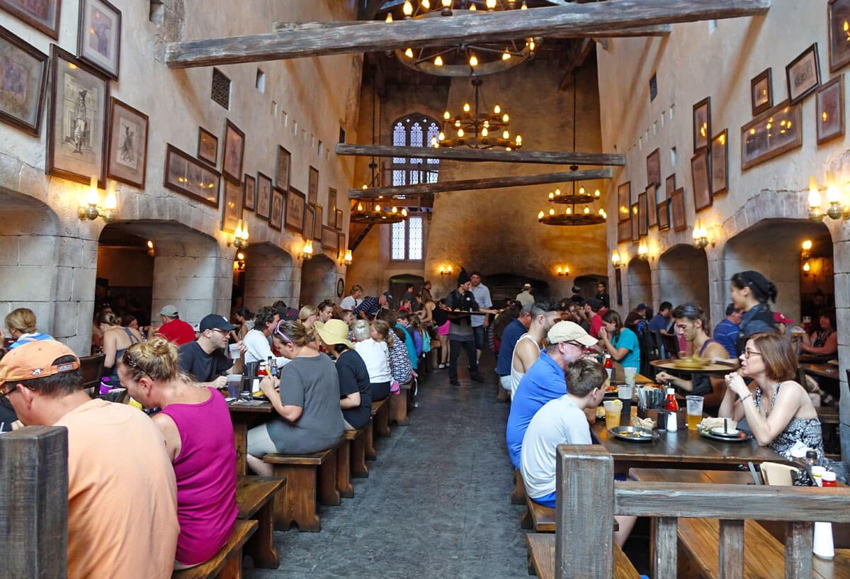 Universal Studios Counter Service - Leaky Cauldron