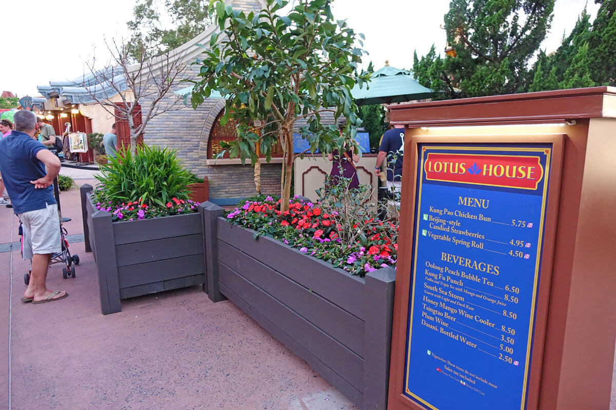 Epcot Flower and Garden 2017 - Lotus House