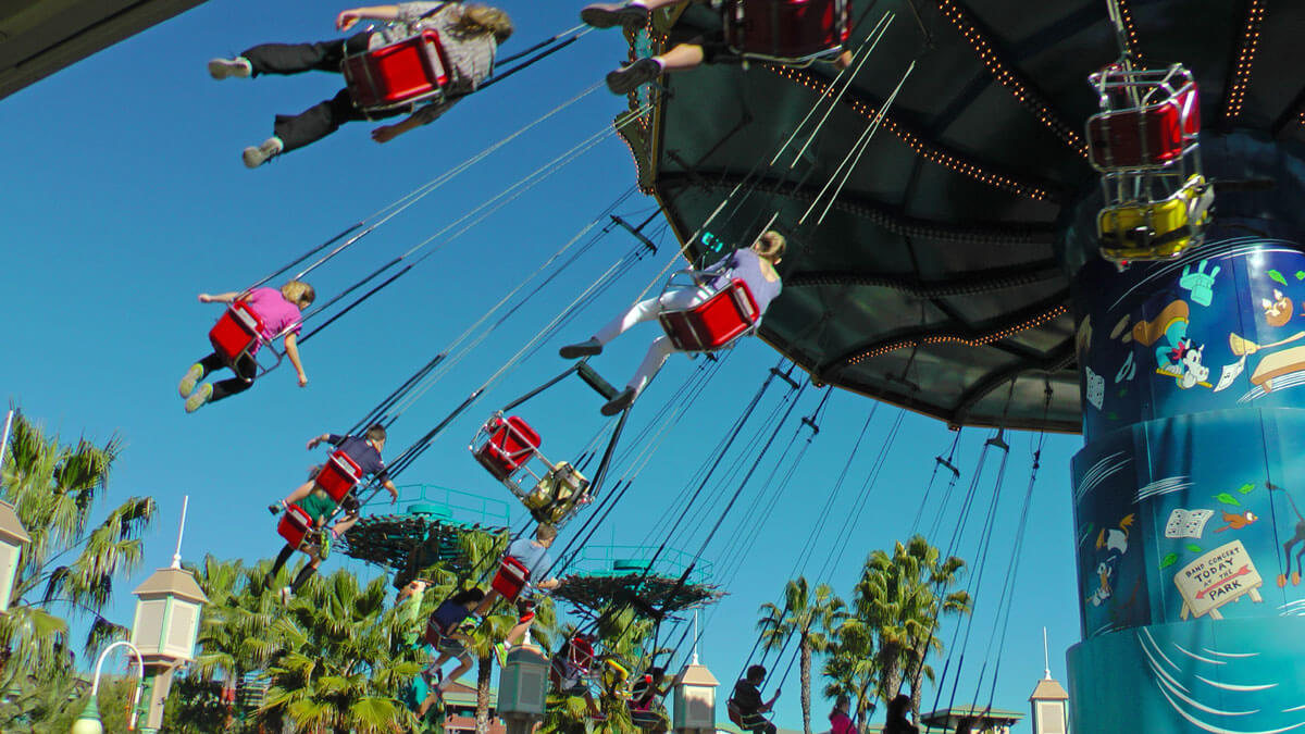 Disneyland Height Requirements - Disneyland Height Restrictions - Silly Symphony Swings