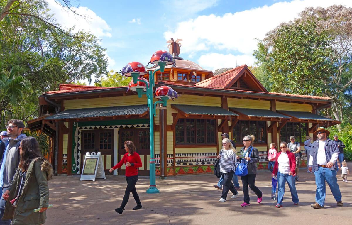 What Opened at Disney World in 2015 - Starbucks at Disney's Animal Kingdom