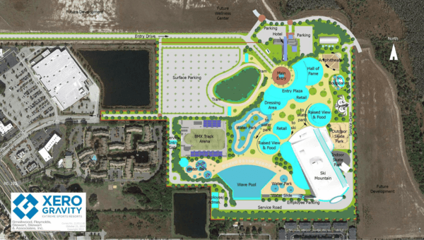 Massive Extreme Sports Resort Proposed for Kissimmee Area Near Disney World