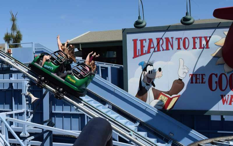Disneyland's Top Thrill Rides - Goofy's Sky School