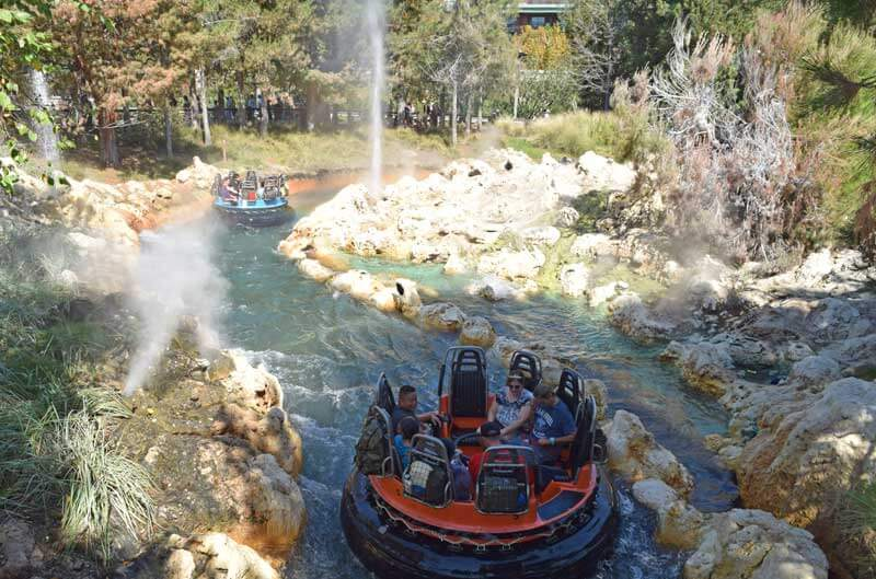 Disneyland's Top Thrill Rides - Grizzly Peak River Run