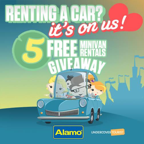 Undercover Tourist's Great Minivan Rental Giveaway