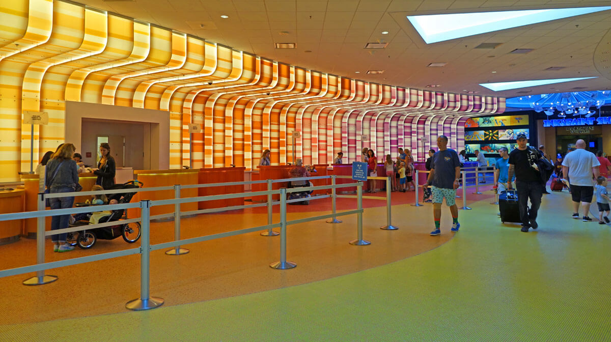 Split Stay in Orlando - Disney's Art of Animation Lobby