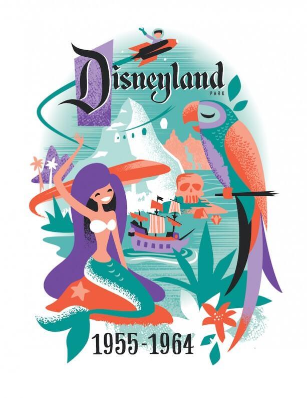 Disneyland Resort Diamond Celebration art