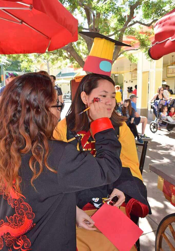 Saving Money at Disneyland - Face Painting