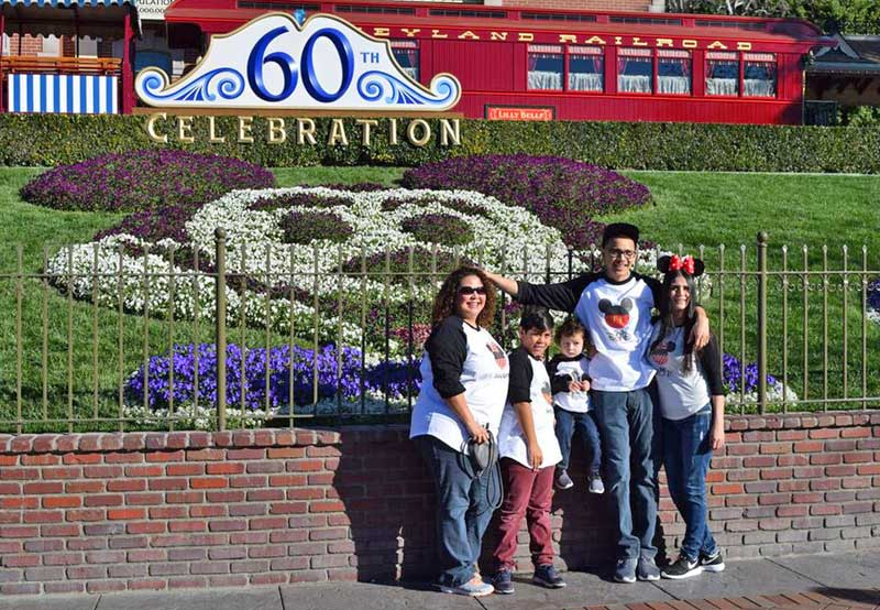 Saving Money at Disneyland - Matching T-Shirts
