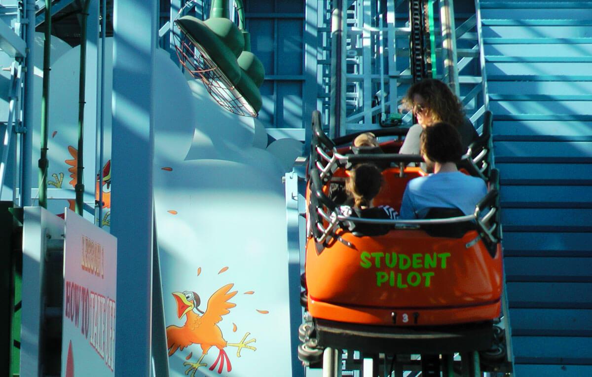 Disneyland's top thrill rides - Goofy's Sky School