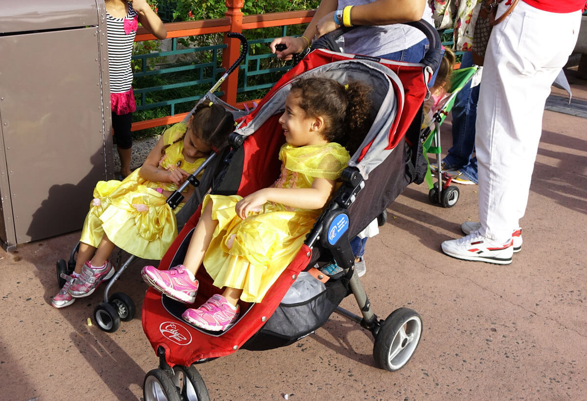 Using a Stroller in Disney World - Little Belles