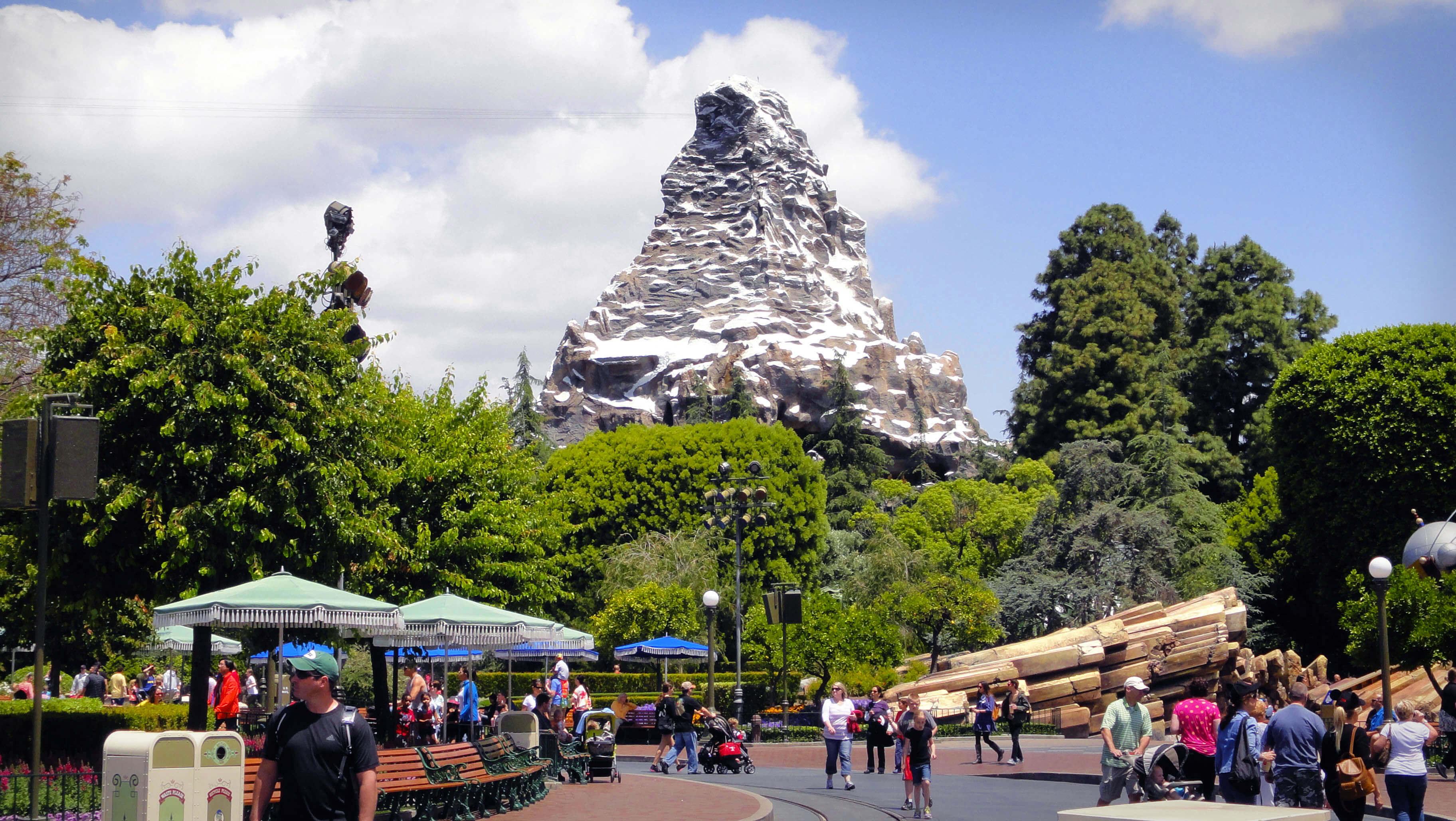 Disneyland's Top Thrill Rides -  Matterhorn Bobsleds