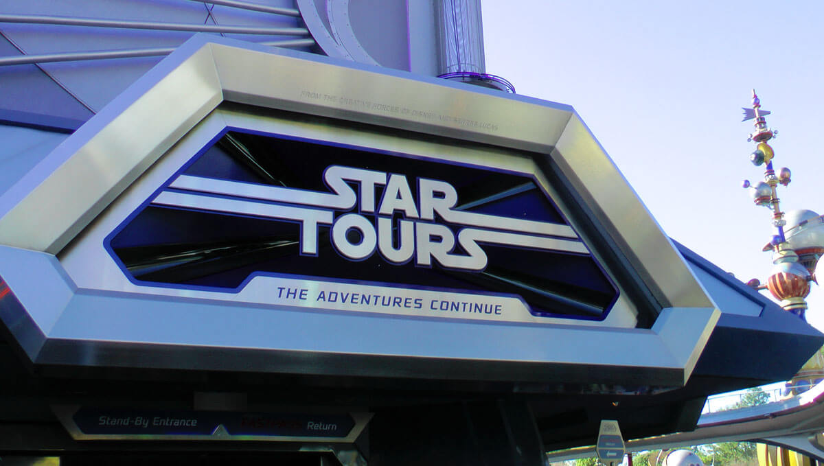 Disneyland Scary Rides - Star Tours