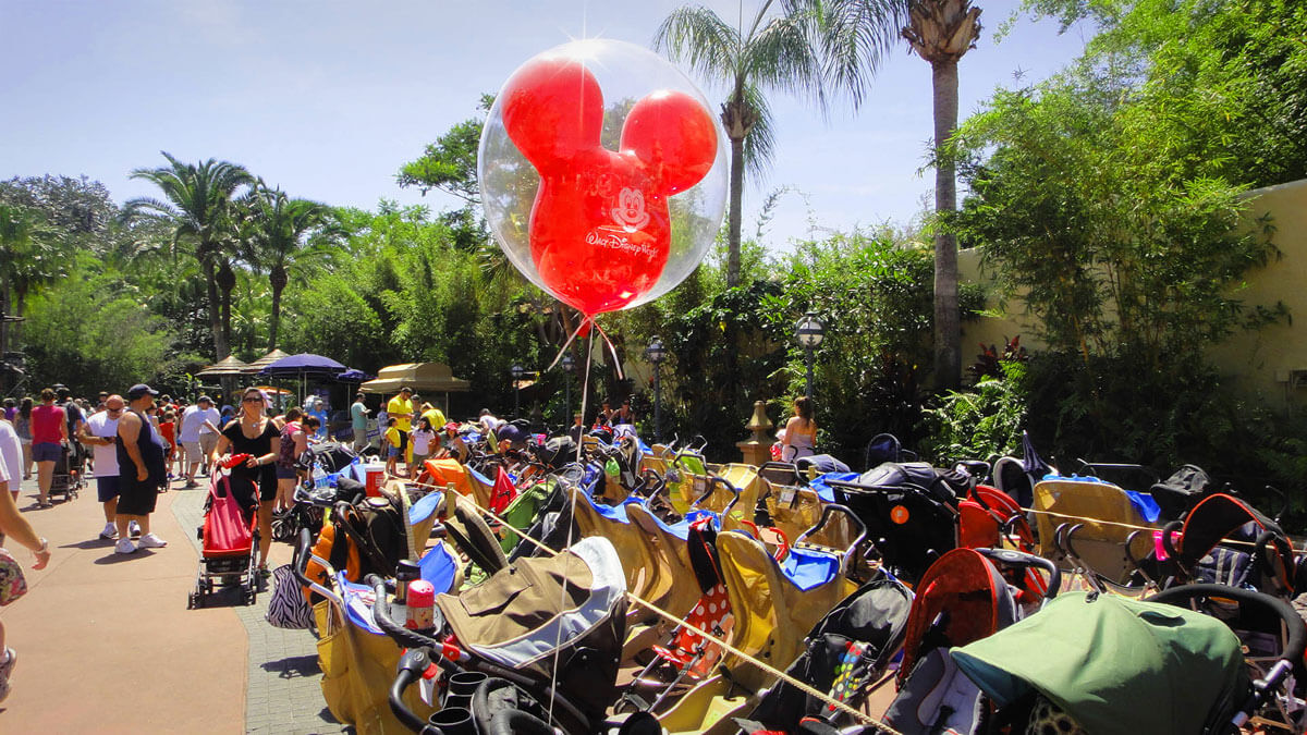 Top 10 Tips for Using a Stroller at Disney World