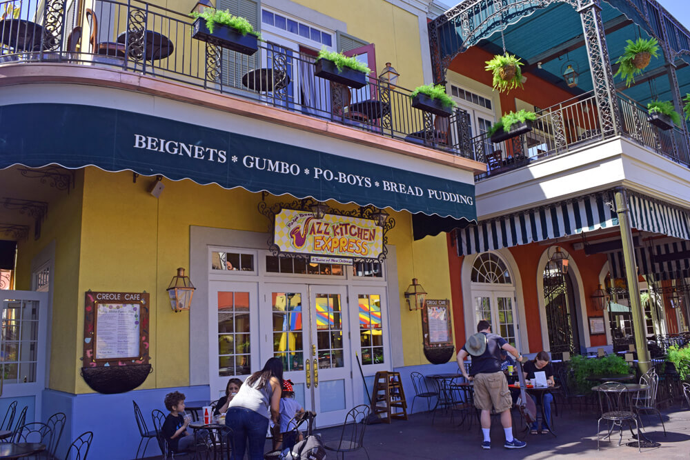 Disneyland Dining Reservations - Ralph Brennan's Jazz Kitchen