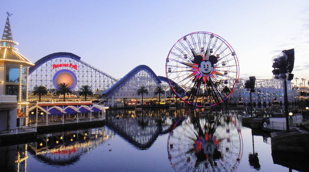 Tips for Disneyland in summer - Paradise Pier