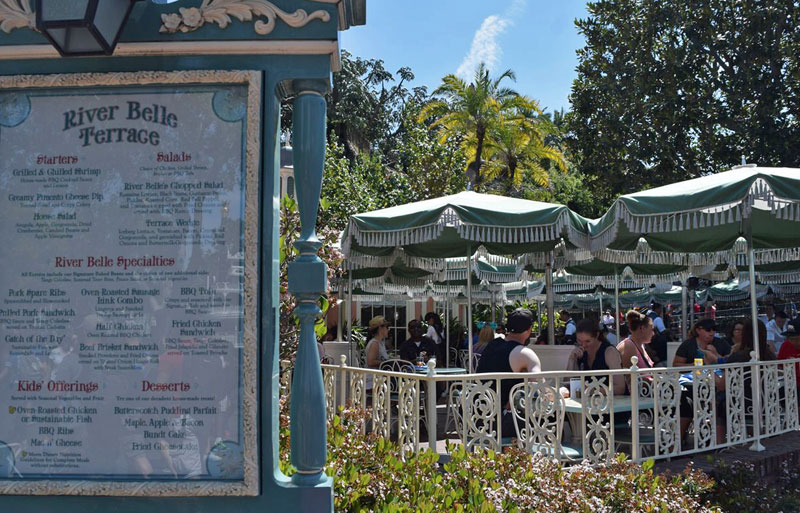 Disneyland Dining Reservations - River Belle Terrace in Disneyland