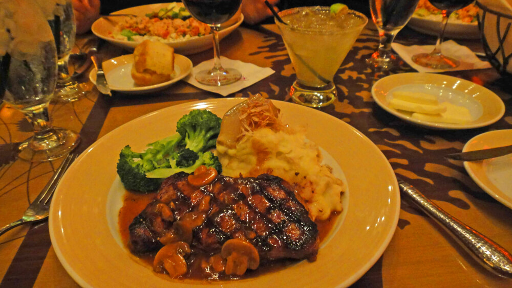 Disneyland Dining Reservations - Storytellers Cafe for dinner