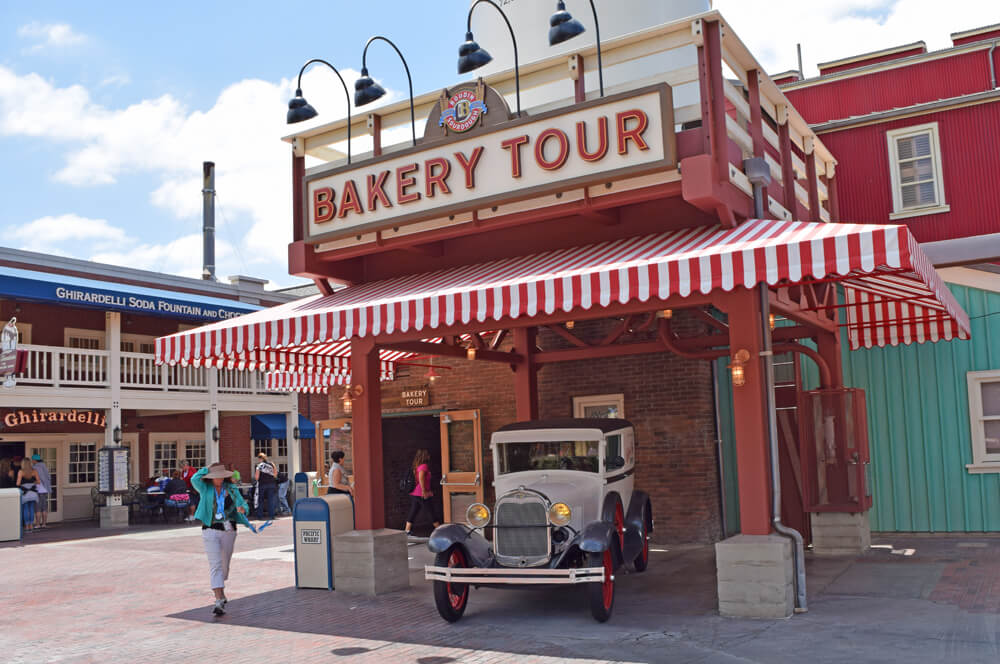 Free things to do at Disneyland - Bakery Tour bread sample