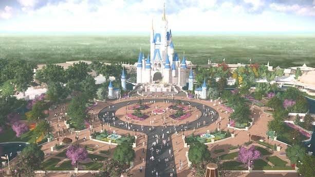 Cinderella Castle Turrets
