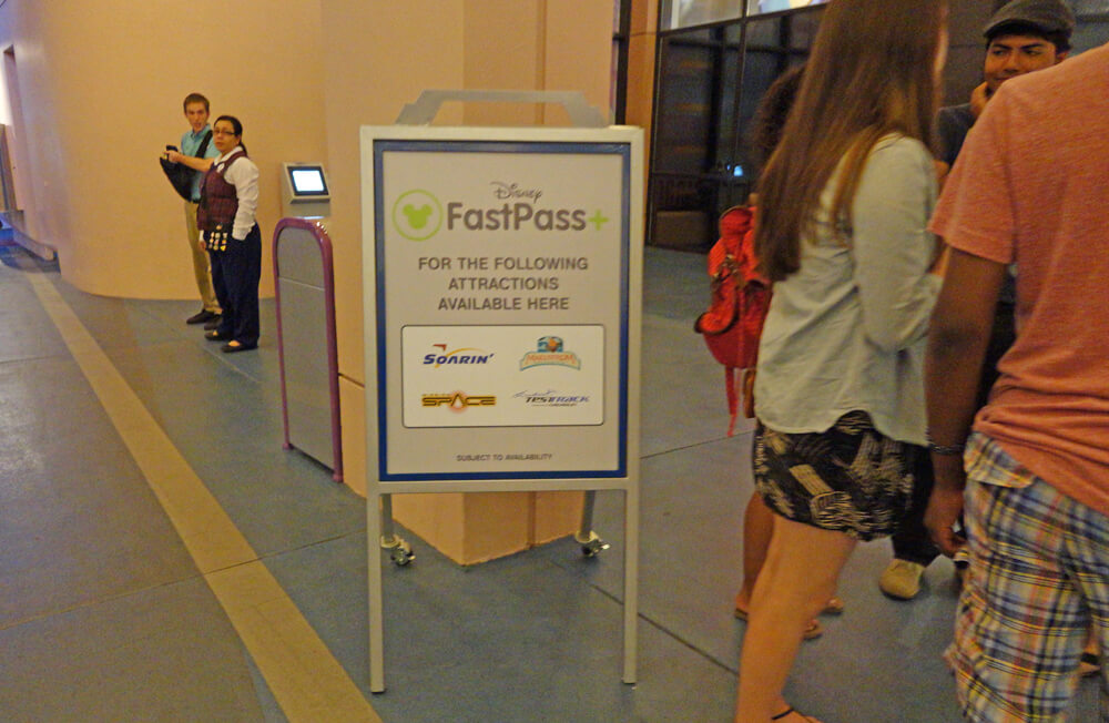 Epcot FastPass+ Kiosks - Epcot FastPass+ Attractions and Entertainment