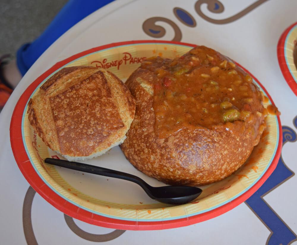 Disneyland Quick-Service Restaurants - Gumbo at Royal St. Veranda