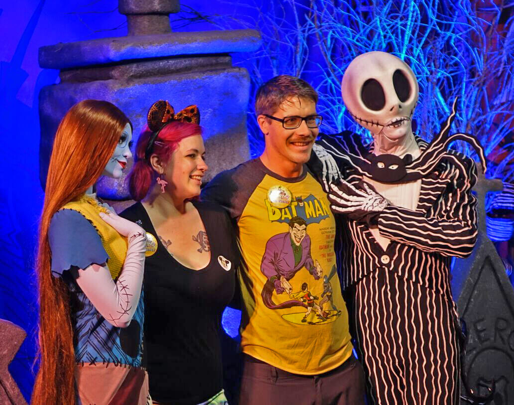 Mickey's Not So Scary Halloween Party 2018 - Disney Halloween Party - Jack and Sally