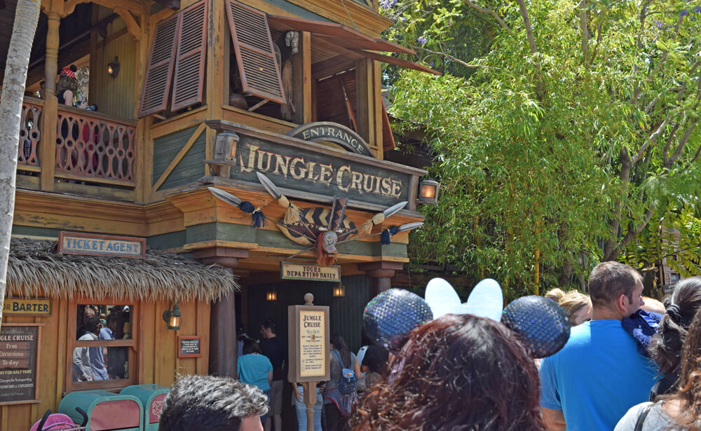 Free things to do at Disneyland - Jungle Cruise map
