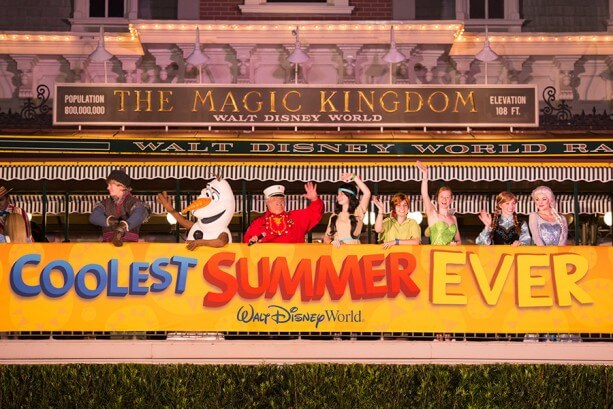 """Magic Kingdom Welcome Show on the """"Coolest Summer Ever"""""""