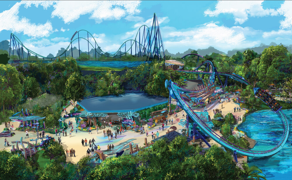 SeaWorld Orlando Plans 73-mph Coaster for Summer 2016