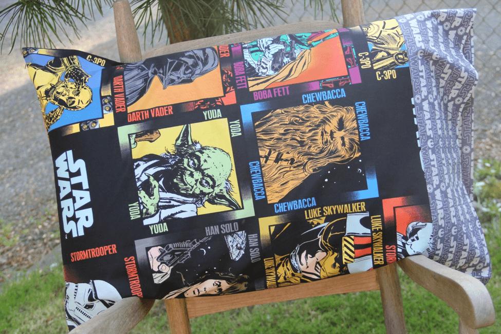 Star Wars pillowcase