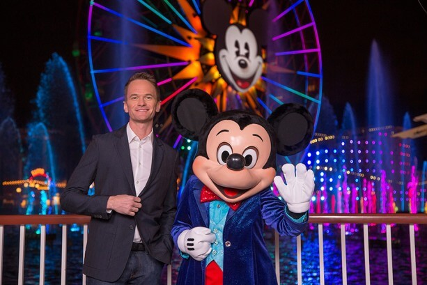 """""""World of Color - Celebrate"""" with Mickey Mouse and Neil Patrick Harris"""