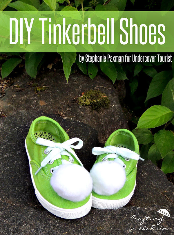 Easy DIY Tinkerbell Shoes for Your Favorite Fairy