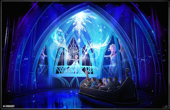 Disney Offers Preview of Coming 'Frozen' Ride
